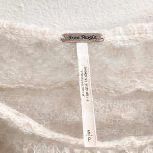 Free People Sweaters - Free people mohair sweater